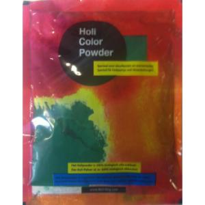 Holi kleurenpoeder Groen 100 gram