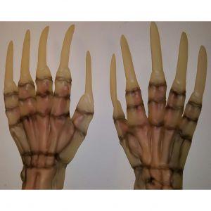 Skelet handen latex