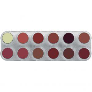 Grimas Lipstick Palette 12LB