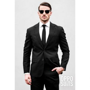 OppoSuits Heren Black Knight