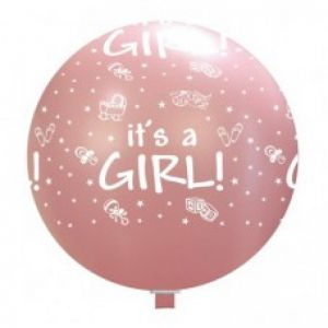 Reuze Ballon It´s A Girl 75 cm