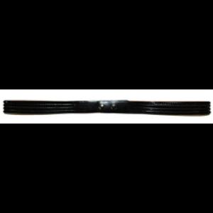 Riem met pailletjes Zwart (96 cm)
