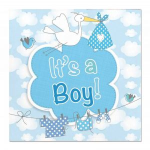 Servetten It's a Boy