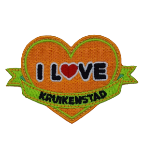 Strijkapplicatie I Love Kruikenstad