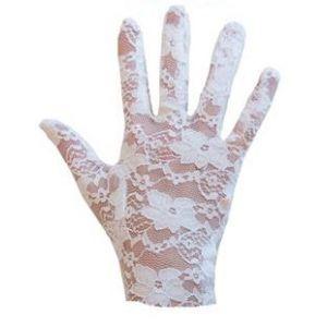 Handschoen Kant Wit 22 cm.