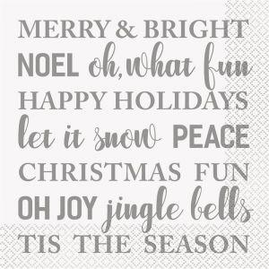 Letterslinger Vrolijk Kerstfeest