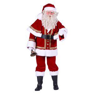 Kerstman Fluweel deLuxe met Cape