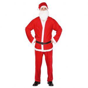 Kerstman Kostuum Velvet