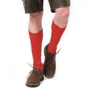 Tiroler kniekousen rood 43-46