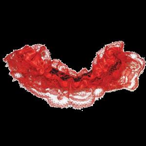 Kousenband Rood