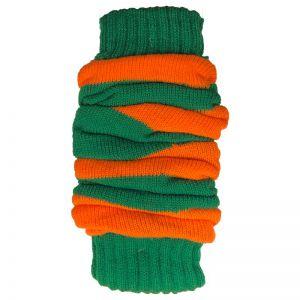 Kruikenstad Beenwarmers Oranje/Groen