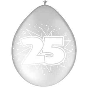 Ballonnen 50 jaar Goud (8 stuks)