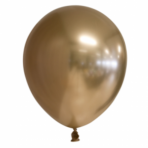 Latex ballonnen Chrome Goud