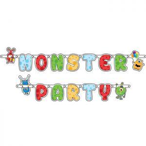 Vlaggenlijn Monster Party