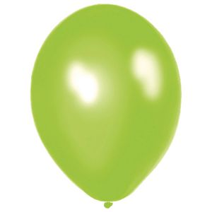 Ballonnen nr. 14 Appelgroen Metallic (10 stuks)