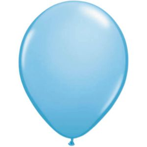 Latex Ballonnen 13 cm Lichtblauw (20 stuks) 13 cm