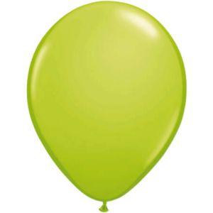 Latex Ballonnen 13 cm lichtgroen (20 stuks)