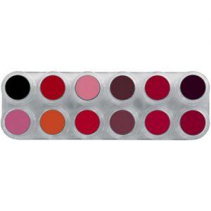 Grimas Lipstick Palette 12LF