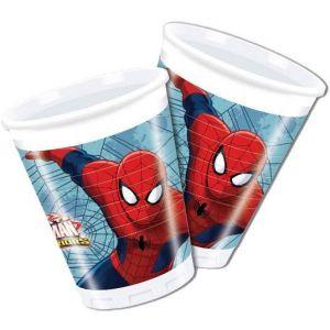 Spiderman bekertjes