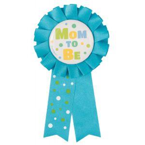 Rozet Mom to Be blauw