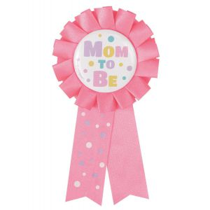 Rozet Mom to Be roze