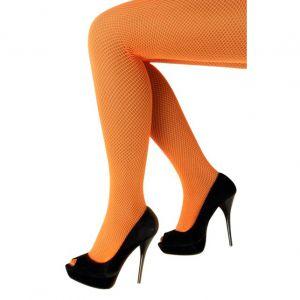 Panty Net neon oranje