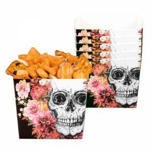 Papieren Bakjes Halloween Day of the dead