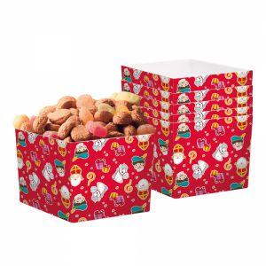 Papieren bakjes Sinterklaas