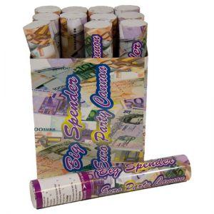 Confetti kanon € 500 biljetten