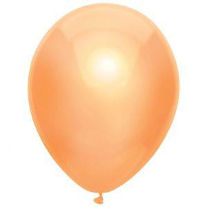 Latex Ballonnen Metallic Peach/Perzik