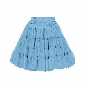 Petticoat 2-laags babyblauw