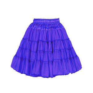 Petticoat 2-laags blauw