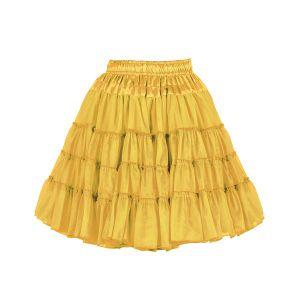 Petticoat 2-laags geel