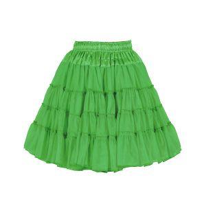 Petticoat 2-laags groen
