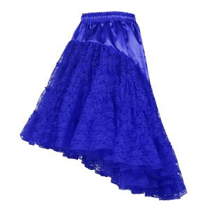 Petticoat lang blauw