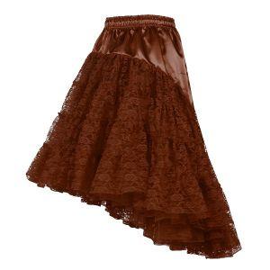 Petticoat lang bruin