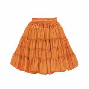 Petticoat 2-laags oranje