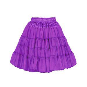 Petticoat 2-laags paars