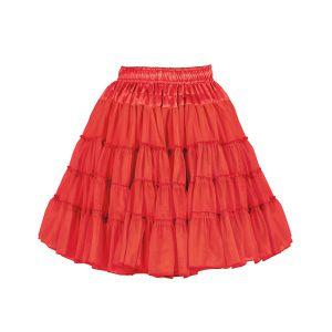 Petticoat 2-laags rood