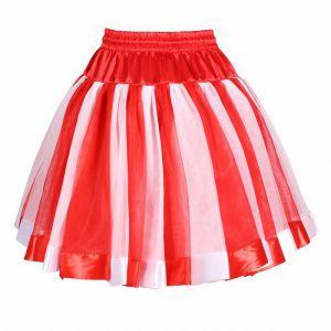 Petticoat rood/wit