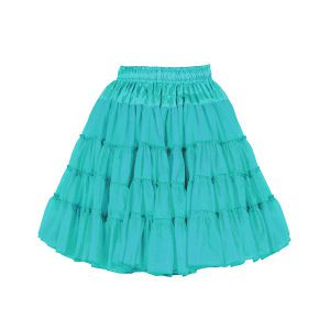 Petticoat 2-laags turquoise