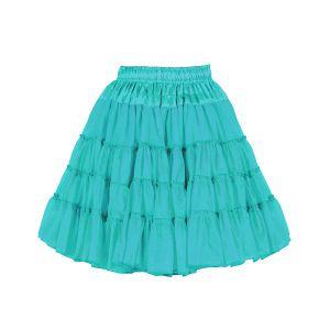 Petticoat 2-laags turquoise