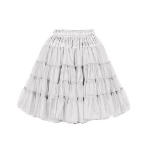 Petticoat 2-laags wit