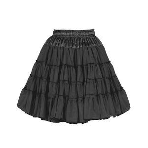 Petticoat 2-laags zwart