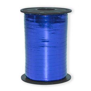Ballonnen Polyband metallic blauw 5 mm/400 meter