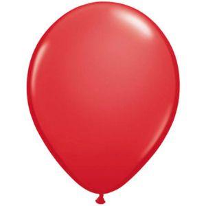 Latex Ballonnen 13 cm rood (20 stuks)