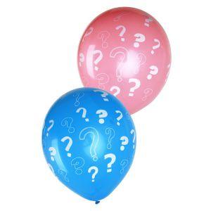 Gender Reveal roze en blauwe ballonnen