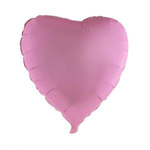 Folieballon Hart Regenboog XL