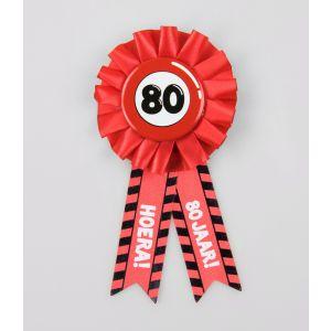 Party Rozet 80 jaar