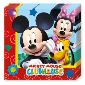 Servetten Mickey Mouse Clubhouse